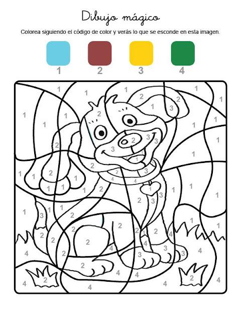 Dibujos De Multiplicaciones Para Colorear E Imprimir