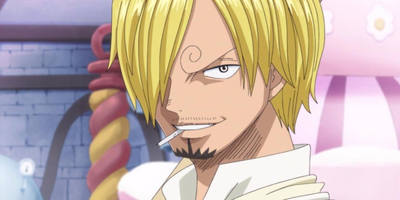 Vinsmoke Sanji Kru Bajak Laut Topi Jerami One Piece