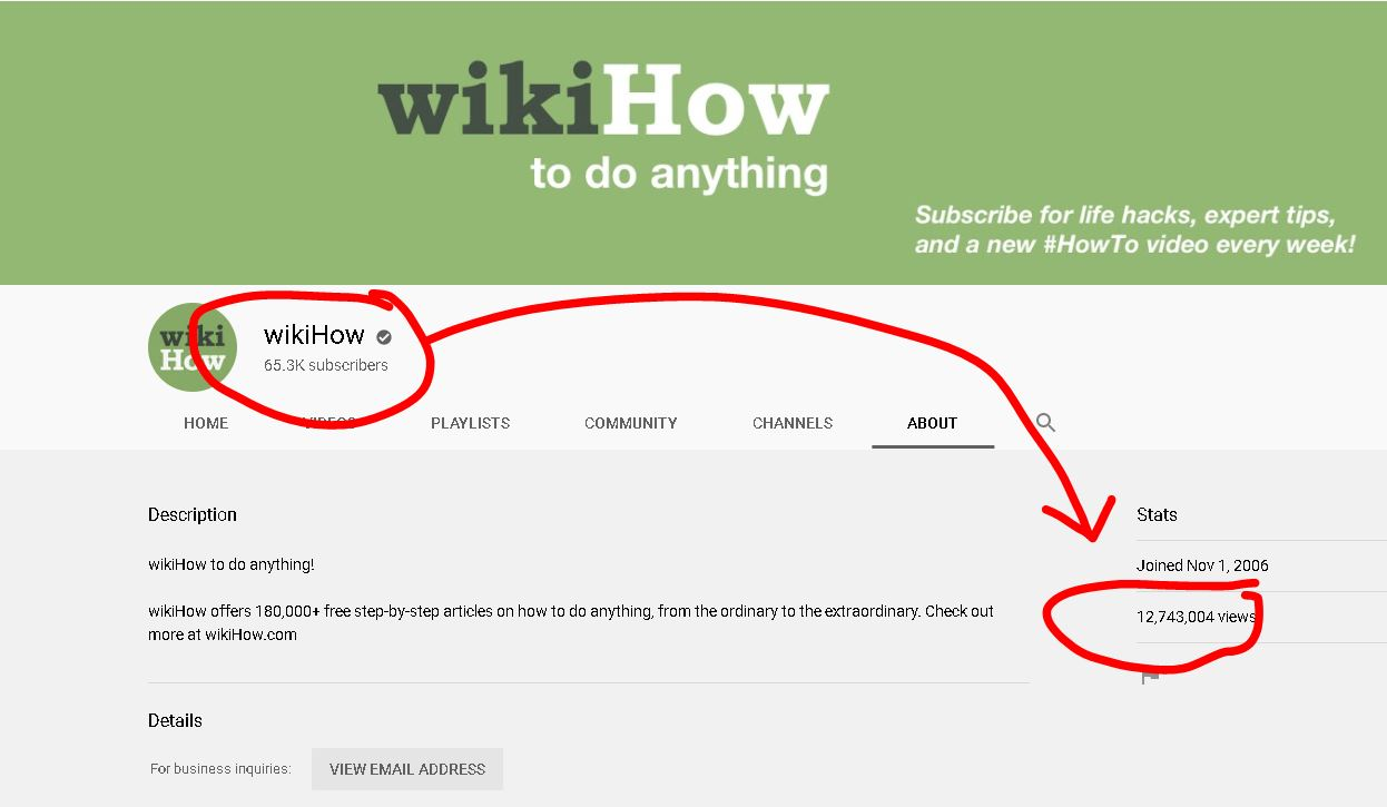 Youtube Wikihow