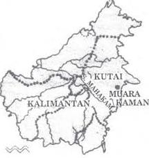 Letak Geografis Kerajaan Kutai