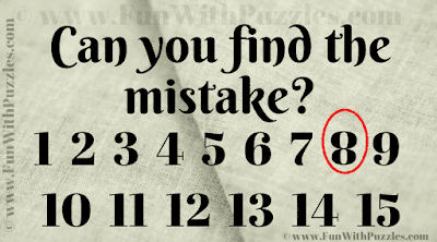 Answer of Picture Brain Teaser