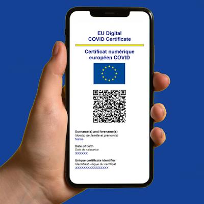 قائمة الدول الأوروبية المعتمدة رسميا لشهادة لقاح كورونا الإلكترونية 2021