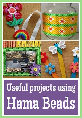 Useful projects created using Hama beads