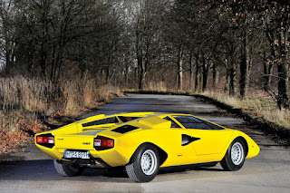 Lamborghini Countach LP400 Periscopio Rear Right