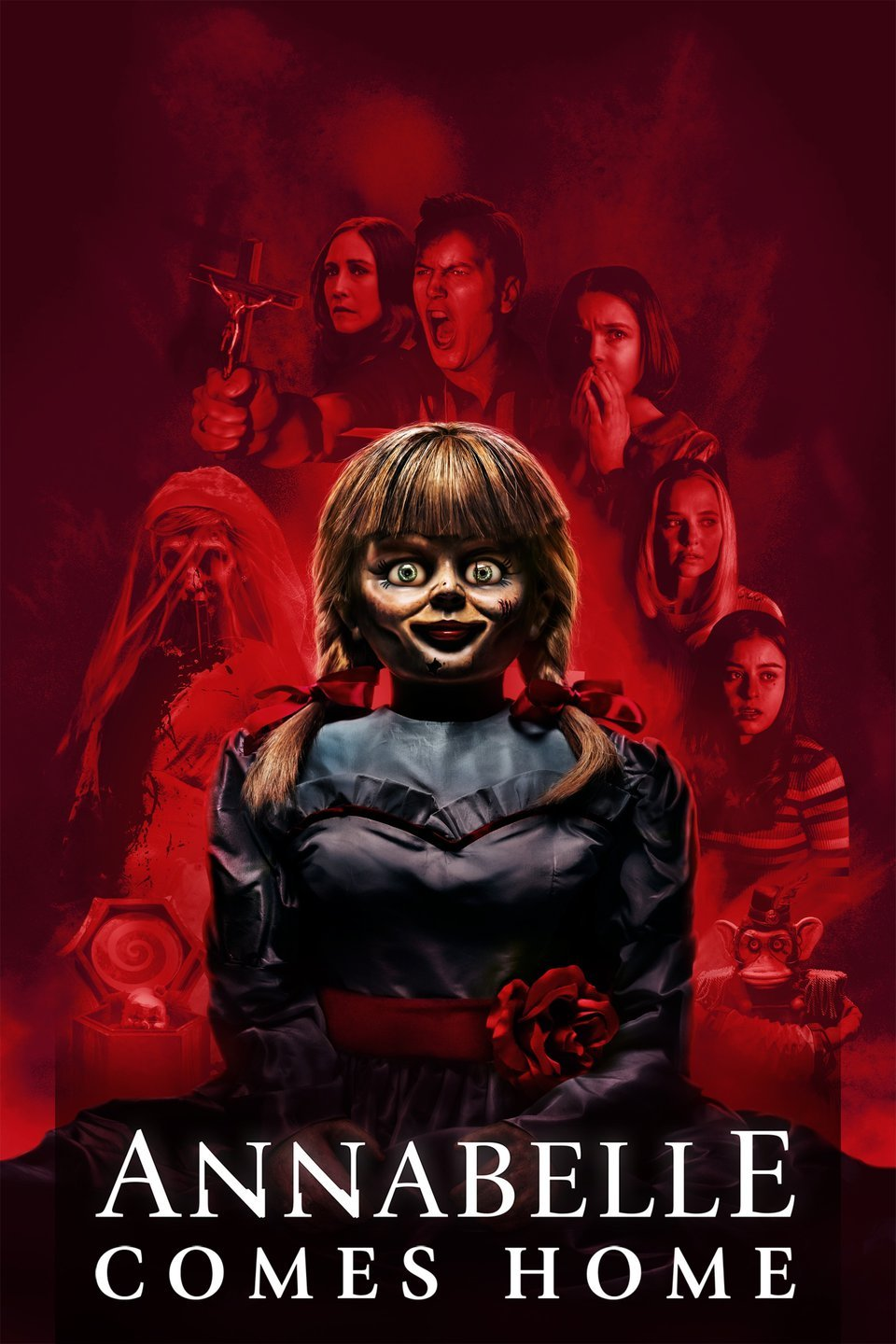 Annabelle Comes Home [2019] [CUSTOM HD] [DVDR] [NTSC] [Latino]