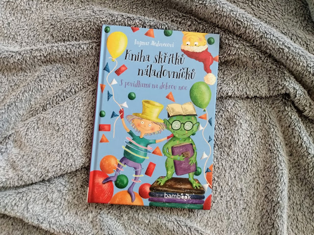 kniha pro deti, detske nalady kniha