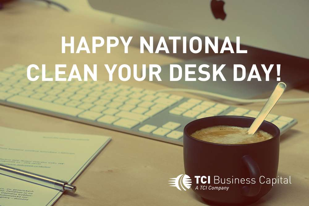 National Clean Your Desk Day Wishes Images