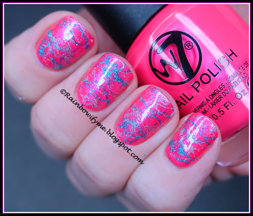 W7: 14 Flourescent Pink with Depend: 573