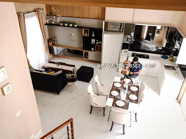 Ruang Tamu Lantai 1 Rumah Mewah Termurah Siap Huni Villa Casa Royale Di Kompleks Royal Sumatera Medan Sumatera Utara