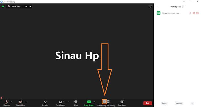 Cara Merekam Zoom Meeting di Laptop