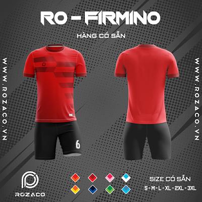 Áo Không Logo Rozaco RO-FIMINO Màu Đỏ
