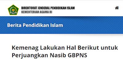 Bulan September Insentif Guru Non PNS (GBPNS) Kemenag Cair, Berikut Syaratnya