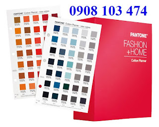 Pantone dùng cho ngành may mặc, da giày, so màu trên vải…. .
