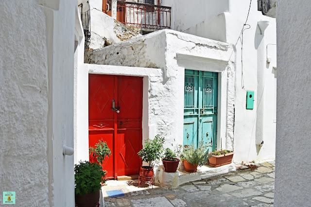 Apeiranthos, isla de Naxos