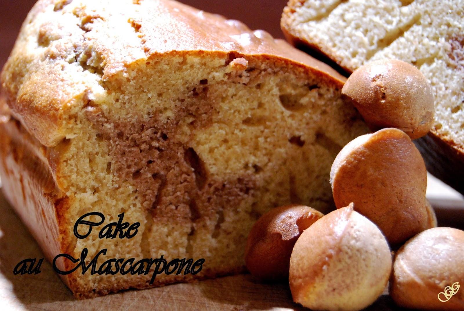 Cake au mascarpone