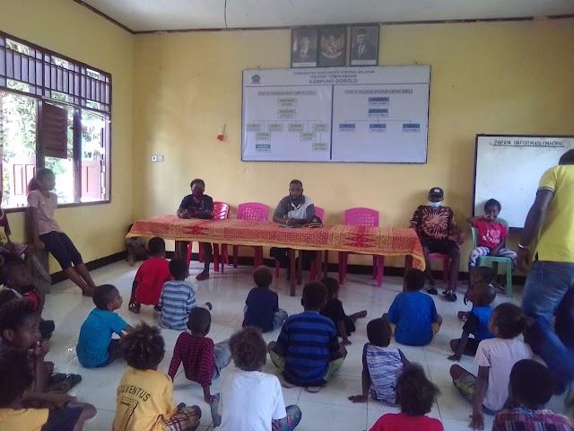 Sorong Selatan:Kampung Gorolo, Lucurkan BLT bagi Pendidikan dan kelompok tani