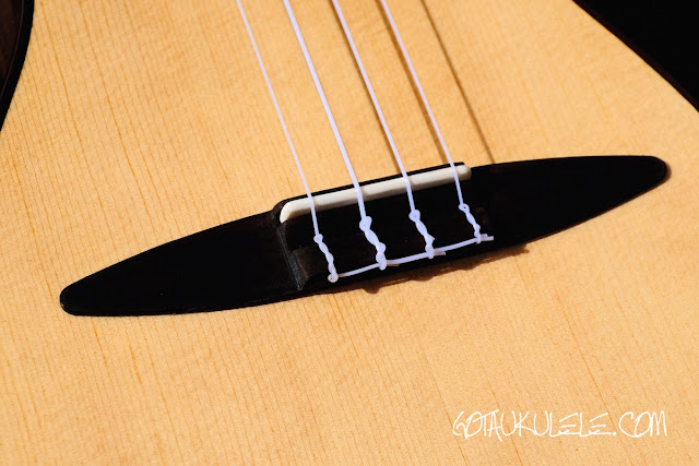 ZT Tenor Ukulele bridge