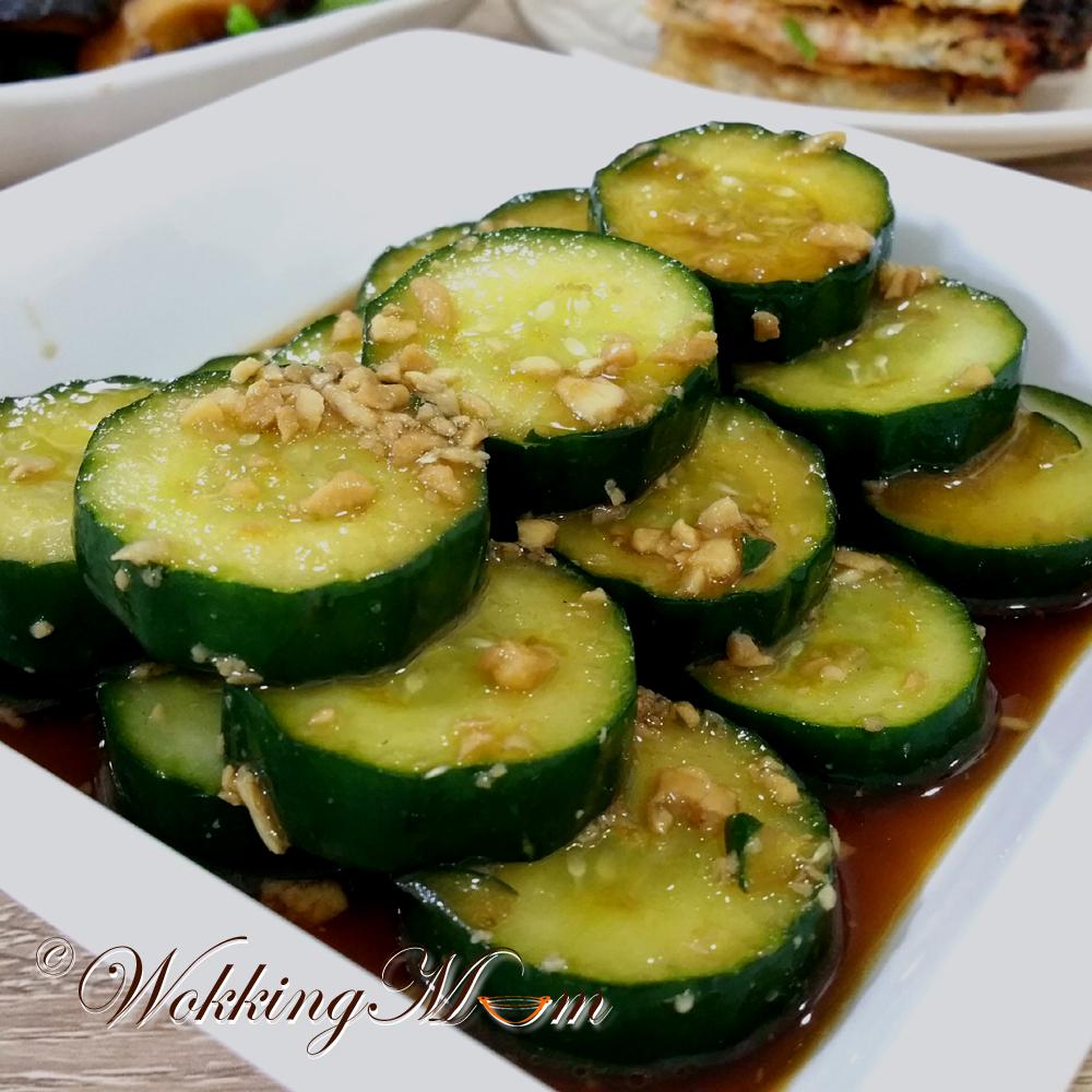Let's get Wokking!: Pickled Cucumber   Singapore Food Blog ...