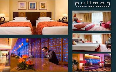 Resepsionis dan beberapa tipe kamar Hotel Grand Zamzam