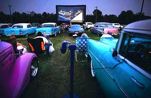 Bel Air Drive-in Movie Theater - Versailles, IN