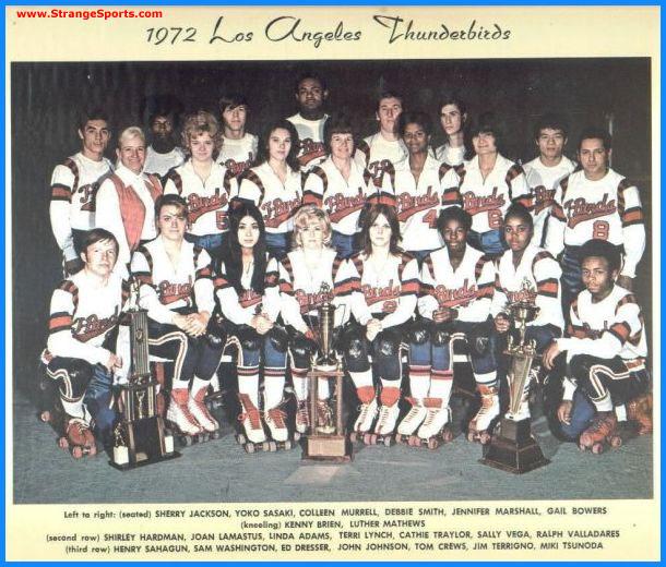 1972 Los Angeles Thunderbirds - Coed