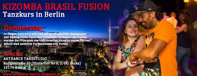Kizomba Berlin Tanzkurs mit Ailton Silva