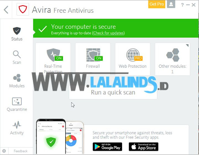 Download Avira Free Antivirus 15.0.32.6 Offline Installer