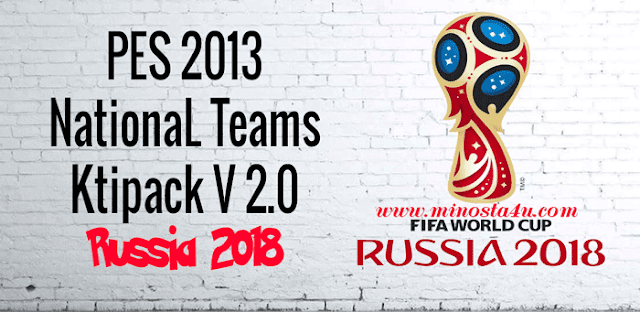 PES 2013 National Teams Kitpack V2.0 Russia 2018