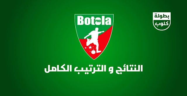 نتائج الجولة 27 من البطولة الوطنية المغربية و الترتيب الكامل