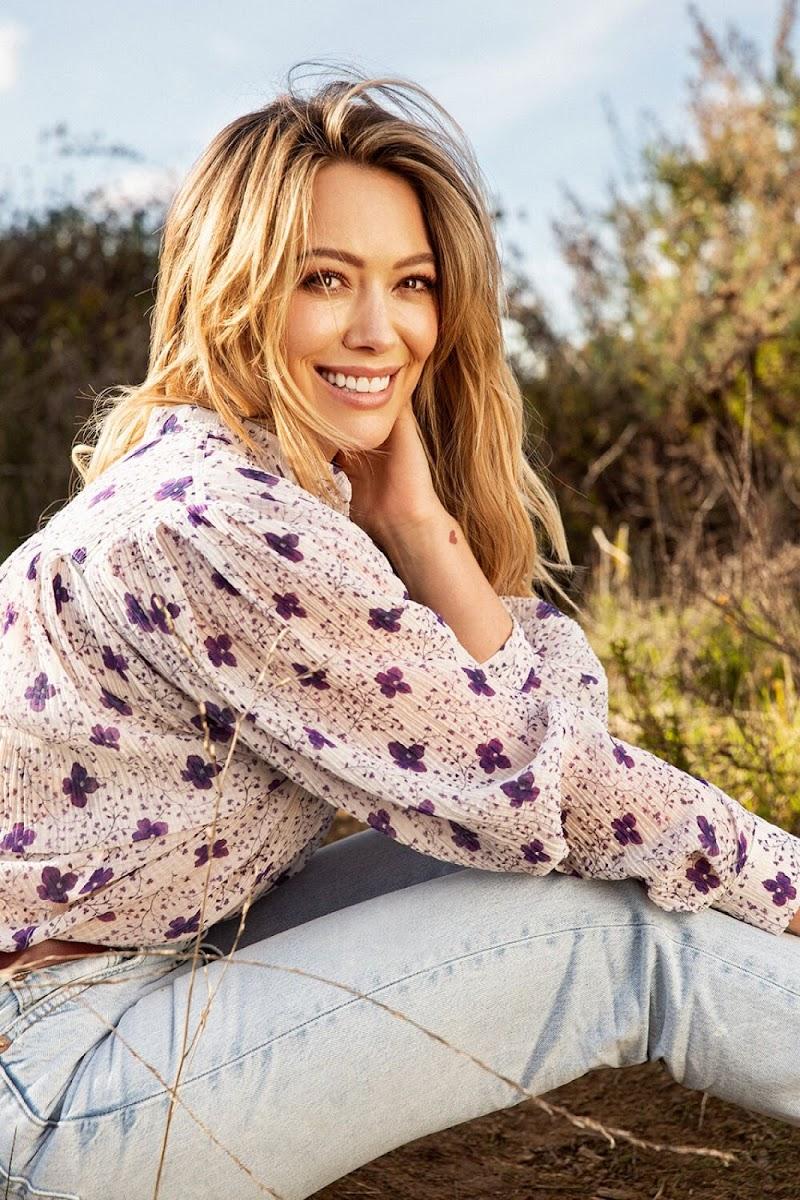 Hilary Duff Featured for Parents Magazine -  April 2020