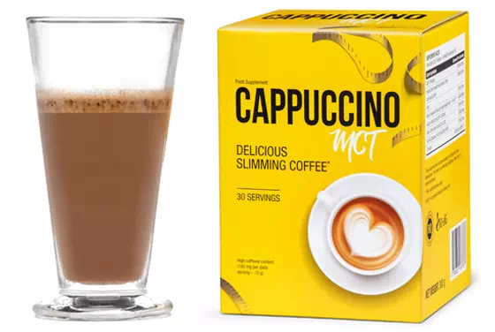 Cappuccino MCT is a coffee that burns fat!