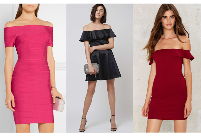 The best off the shoulder dresses - UK fashion blog