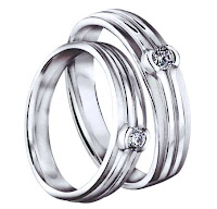 cincin nikah simple desain sederhana