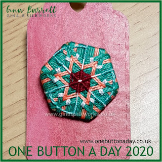 One Button a Day 2020 by Gina Barrett - Day 36: Twinkle