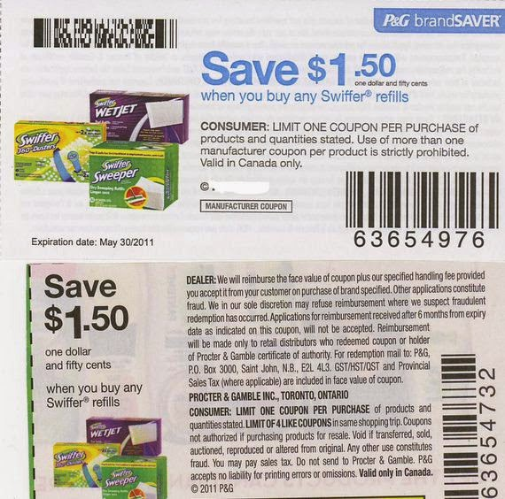 Swiffer sweeper coupons printable 2018