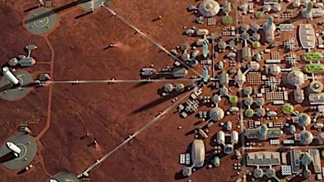 Έτσι θα αποικίσουμε στον Άρη: Φάρμες με ακρίδες θα τρέφουν 1 εκατ. ανθρώπους   Βίντεο
