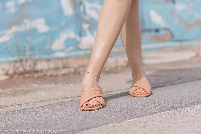 Sandalias acolchadas / Padded Sandals : modelo Satpura color camel de Camilas