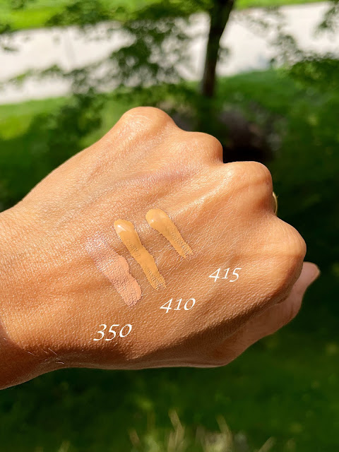 Lancome Teint Idole Ultra Wear All Over Concealer in 350, 410, 415 Review, Photos, Swatches