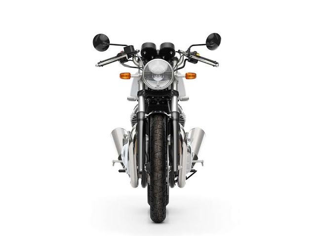 Royal Enfield Continental GT 650 front look