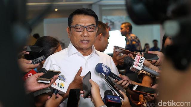 Pendukung Prabowo Satu per Satu Tersangka, Moeldoko: Introspeksi Dong