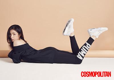 Shin Se Kyung Cosmopolitan March 2016