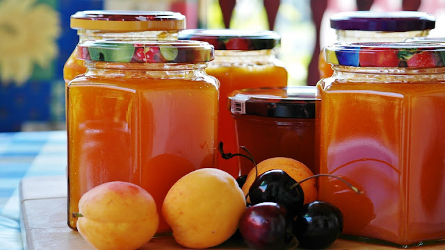 Confiture d'oranges fait à la maison