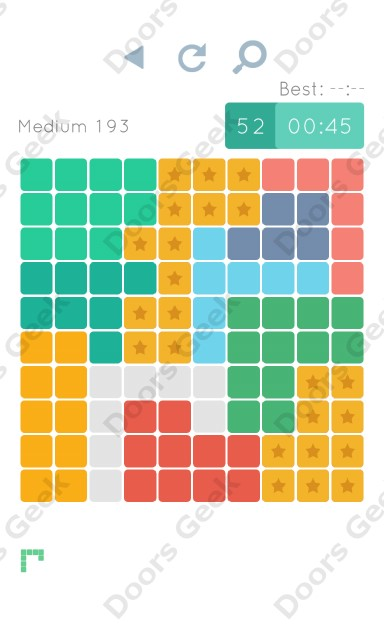 Cheats, Walkthrough for Blocks and Shapes Medium Level 193