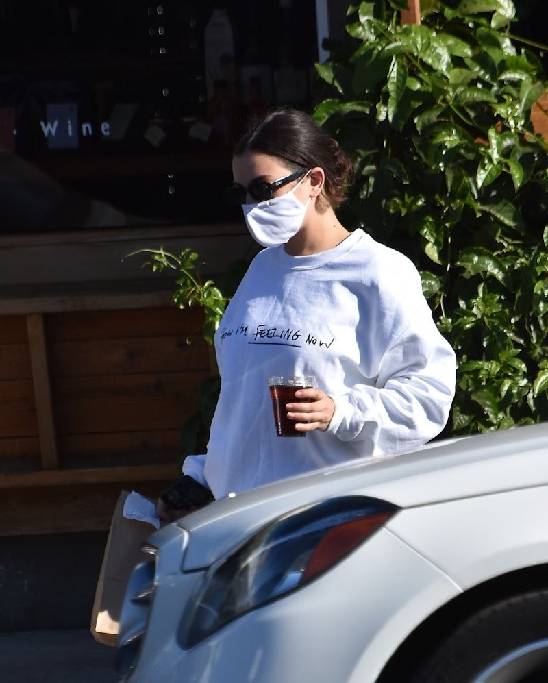 Charli XCX Pick Up Her Lunch to go in Los Feliz 19 Dec-2020
