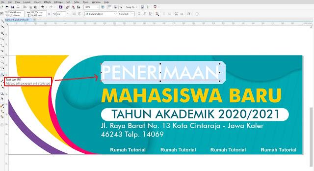Download Banner Penerimaan Siswa Baru CorelDraw X7