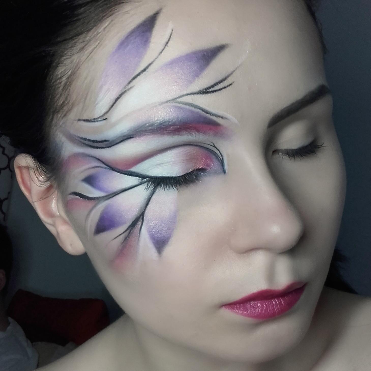 Blackarrot Makijaż Artystyczny Inspirowany Kwiatami