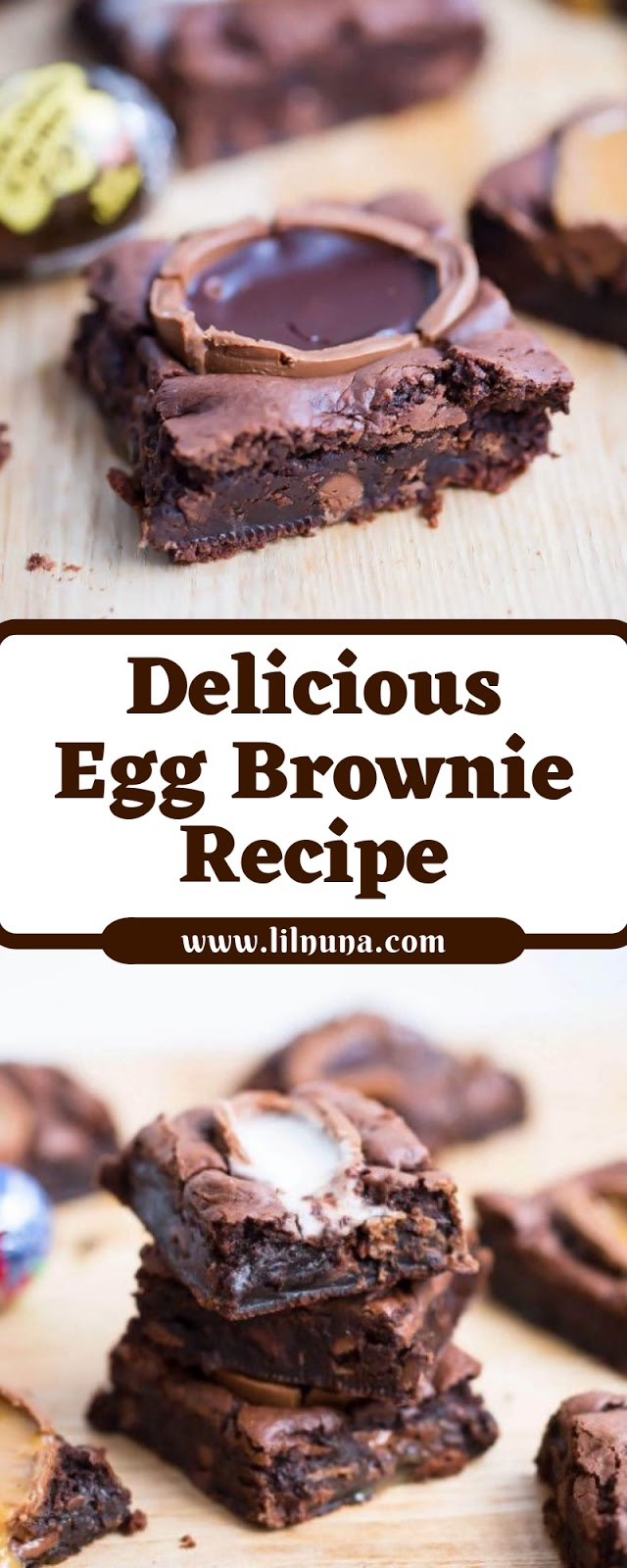 Delicious Egg Brownie Recipe