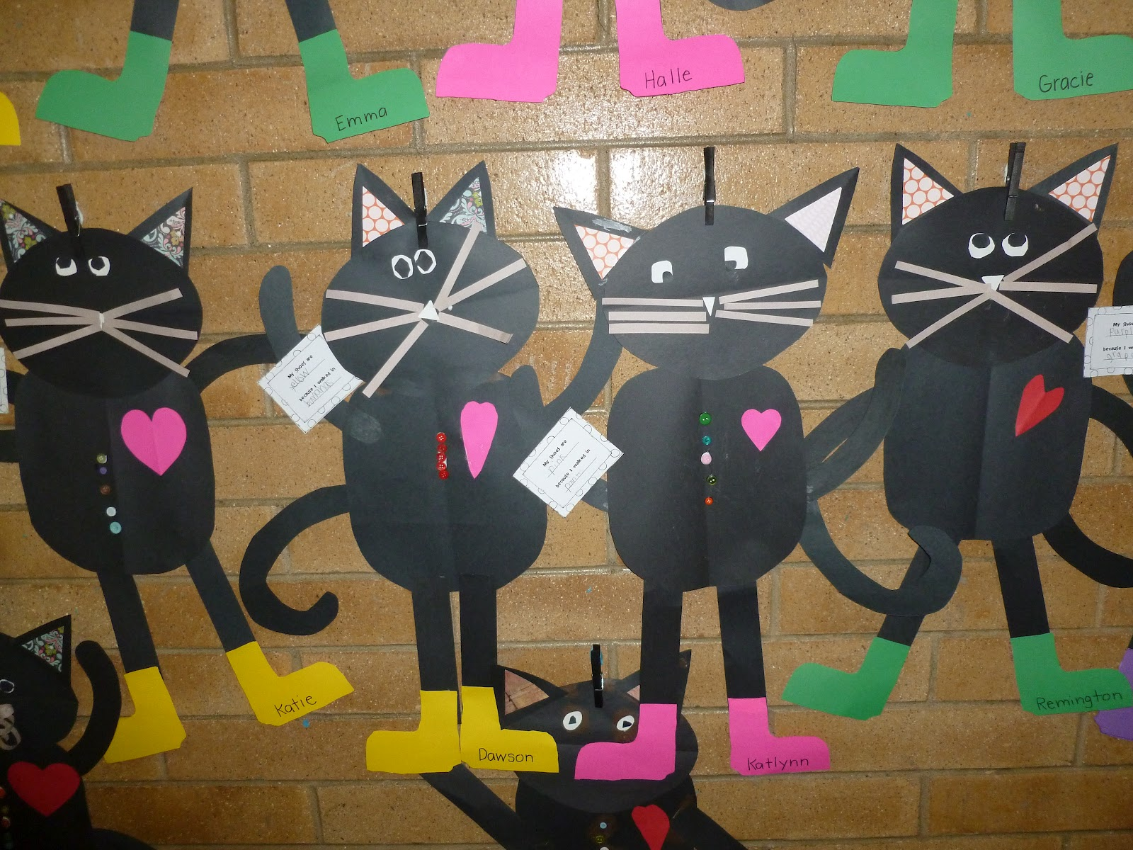 Fun For First My Templates For Our Version Of Pete The Cat