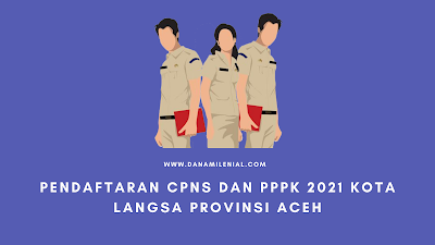Pendaftaran CPNS dan PPPK Kota Langsa Provinsi Aceh Lulusan SMA D3 S1 S2