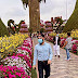 Visit Miracle Garden with Mask